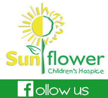 'Like' and 'Follow' Sunflower Children's Hospice on facebook for regular updates, news and photographs from the hospice.